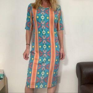 ‼️Lularoe Aztec JULIA dress Size Med‼️ X23